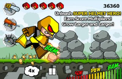 Download Helmet Hero: Head Trauma iPhone free game.