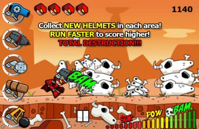 Free Helmet Hero: Head Trauma download for iPhone, iPad and iPod.