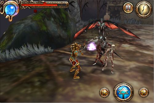 Download Hercules: Curse of the Hydra iPhone free game.