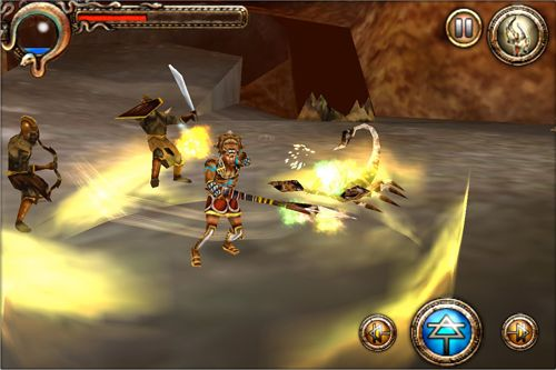 Capturas de pantalla del juego Hercules: Curse of the Hydra para iPhone, iPad o iPod.