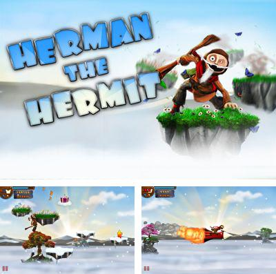 In addition to the game Jules Verne's Journey to the center of the Moon – Part 2 for iPhone, iPad or iPod, you can also download Herman the Hermit for free.