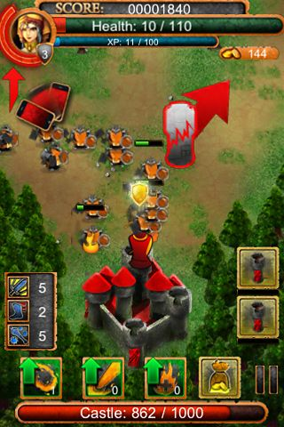 Free Hero defense pro download for iPhone, iPad and iPod.