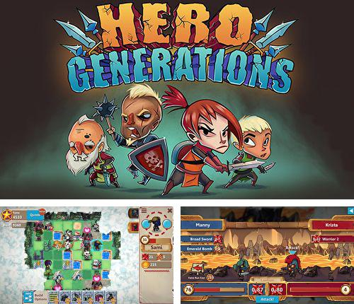 In addition to the game Motordrive city for iPhone, iPad or iPod, you can also download Hero generations for free.