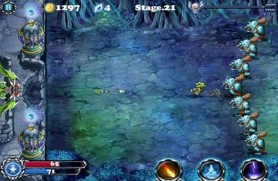 Screenshots of the Hero of Magic game for iPhone, iPad or iPod.