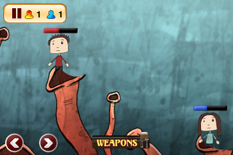 Screenshots vom Spiel Hero Teams für iPhone, iPad oder iPod.