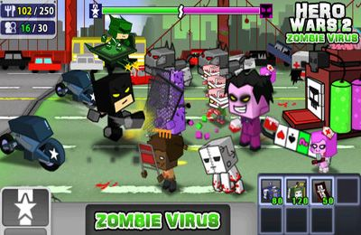 Descarga gratuita de Hero Wars 2: Zombie Virus para iPhone, iPad y iPod.