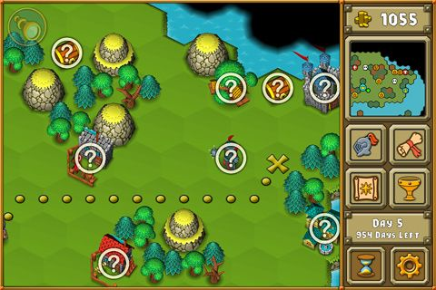 Capturas de pantalla del juego Heroes: A Grail quest para iPhone, iPad o iPod.