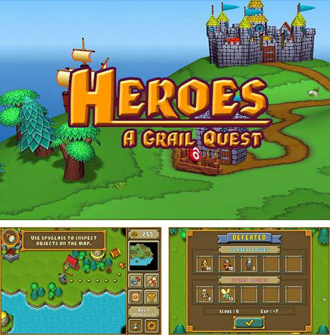 In addition to the game Striker arena for iPhone, iPad or iPod, you can also download Heroes: A Grail quest for free.