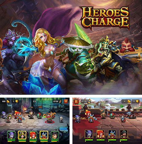 In addition to the game Mysterious Cities of Gold – Flight of the Condor for iPhone, iPad or iPod, you can also download Heroes charge for free.