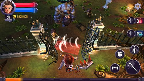 Download Heroes: Curse iPhone free game.