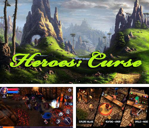 In addition to the game CrazX Quad for iPhone, iPad or iPod, you can also download Heroes: Curse for free.