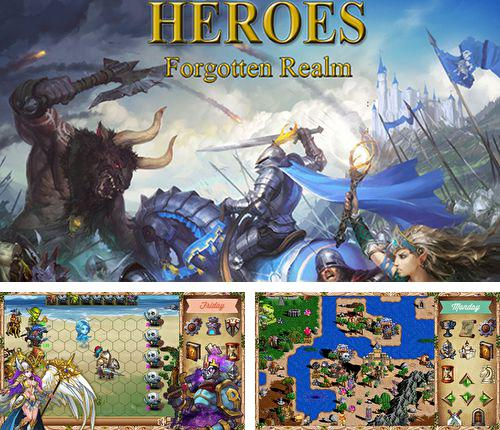 In addition to the game Cookie clickers for iPhone, iPad or iPod, you can also download Heroes: Forgotten realm for free.