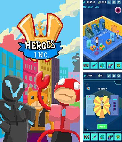 In addition to the game Knight Rider for iPhone, iPad or iPod, you can also download Heroes inc. for free.