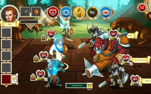 Écrans du jeu Heroes & legends: Conquerors of Kolhar pour iPhone, iPad ou iPod.