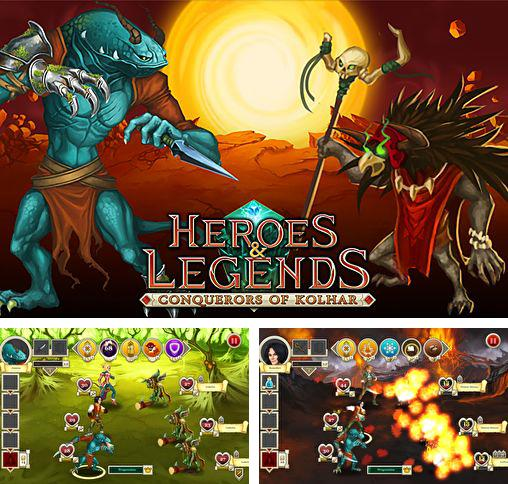 In addition to the game Brave Hedgehogs for iPhone, iPad or iPod, you can also download Heroes & legends: Conquerors of Kolhar for free.