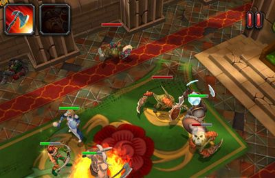 Гра Heroes of Destiny для iPhone