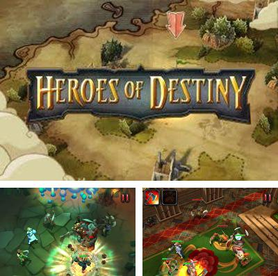 In addition to the game Dungeon rushers for iPhone, iPad or iPod, you can also download Heroes of Destiny for free.