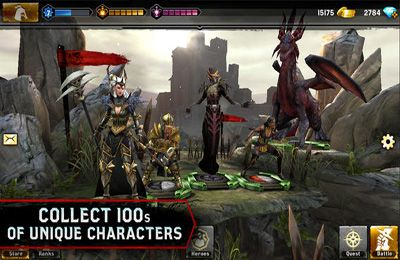 Capturas de pantalla del juego Heroes of Dragon Age: Founders Edition para iPhone, iPad o iPod.