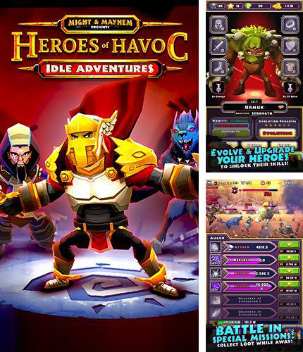 In addition to the game Chicken battle for iPhone, iPad or iPod, you can also download Heroes of havoc: Idle adventures for free.