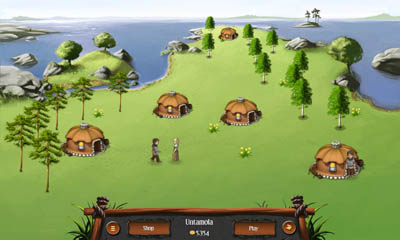 Screenshots of the Heroes of Kalevala game for iPhone, iPad or iPod.