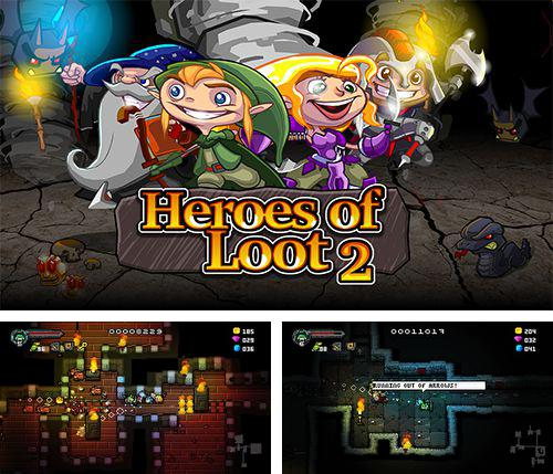 In addition to the game Cube Runner 3D Pro for iPhone, iPad or iPod, you can also download Heroes of loot 2 for free.