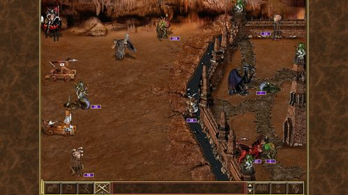 Capturas de pantalla del juego Heroes of might & magic 3 para iPhone, iPad o iPod.