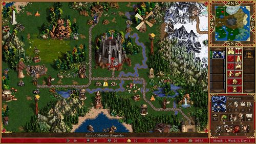 Screenshots do jogo Heroes of might & magic 3 para iPhone, iPad ou iPod.