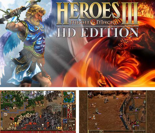 En plus du jeu Mer de carrés pour iPhone, iPad ou iPod, vous pouvez aussi télécharger gratuitement Héros d'épée et de magie 3, Heroes of might & magic 3.