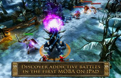 Screenshots vom Spiel Heroes of Order & Chaos - Multiplayer Online Game für iPhone, iPad oder iPod.