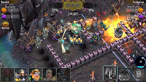 Download Heroes of Paragon iPhone free game.