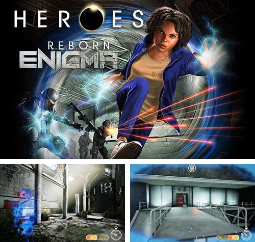In addition to the game Enemy war: Forgotten tanks for iPhone, iPad or iPod, you can also download Heroes reborn: Enigma for free.