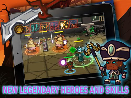 Capturas de pantalla del juego Heroes vs. monsters para iPhone, iPad o iPod.