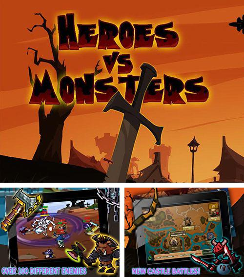 In addition to the game A tiny sheep virtual farm pet: Puzzle for iPhone, iPad or iPod, you can also download Heroes vs. monsters for free.
