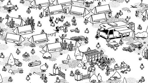 Capturas de pantalla del juego Hidden folks para iPhone, iPad o iPod.