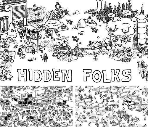 In addition to the game Chuggington: Traintastic adventures for iPhone, iPad or iPod, you can also download Hidden folks for free.