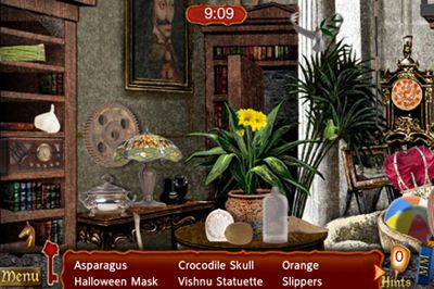 Capturas de pantalla del juego Hidden in Time: Mirror para iPhone, iPad o iPod.