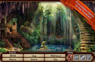 Screenshots vom Spiel Hidden Objects: Gardens of Time für iPhone, iPad oder iPod.