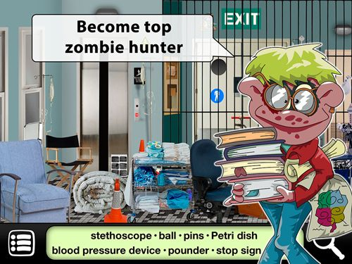Écrans du jeu Hidden zombies pour iPhone, iPad ou iPod.