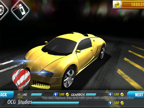 Kostenloser Download von Highway racing: Traffic rush für iPhone, iPad und iPod.