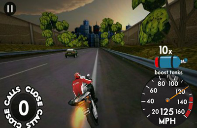 Free Highway Rider download for iPhone, iPad and iPod.