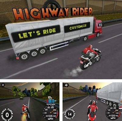 In addition to the game Tin Man Can for iPhone, iPad or iPod, you can also download Highway Rider for free.