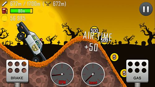 Screenshots of the Hill climb racing game for iPhone, iPad or iPod.