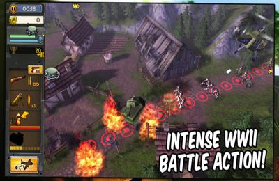 Écrans du jeu Hills of Glory 3D pour iPhone, iPad ou iPod.