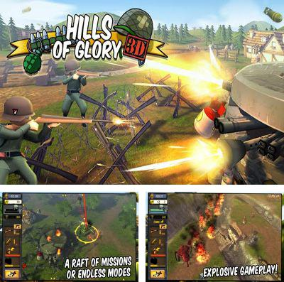 In addition to the game Bring me down! for iPhone, iPad or iPod, you can also download Hills of Glory 3D for free.