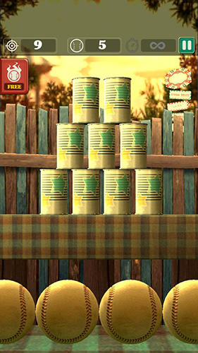 Capturas de pantalla del juego Hit and knock down para iPhone, iPad o iPod.