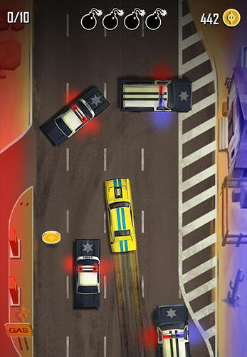 Screenshots of the Hit n' run game for iPhone, iPad or iPod.