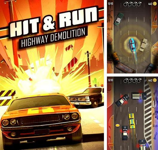 In addition to the game Tanks battalion: Blitz for iPhone, iPad or iPod, you can also download Hit n' run for free.