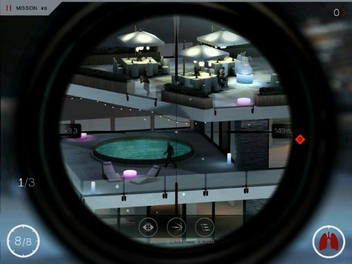 Download Hitman: Sniper iPhone free game.