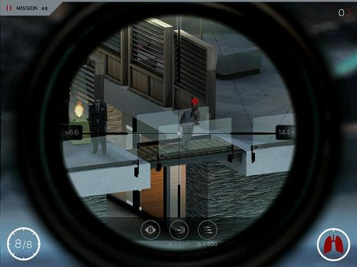 Screenshots of the Hitman: Sniper game for iPhone, iPad or iPod.