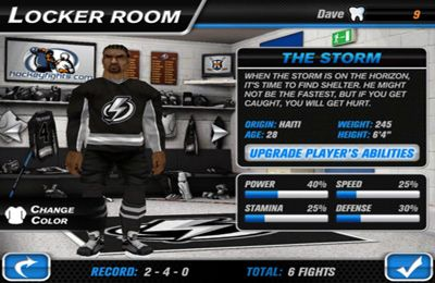 Download Hockey Fight Pro iPhone free game.